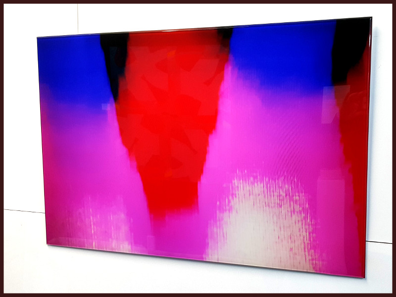 Red White and Blue by Ian Lewis, Contemporary Photography at Koru Art Gallery, New Plymouth, NZ